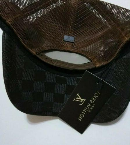 Mesh Leather Designer Trucker Curved High Quality