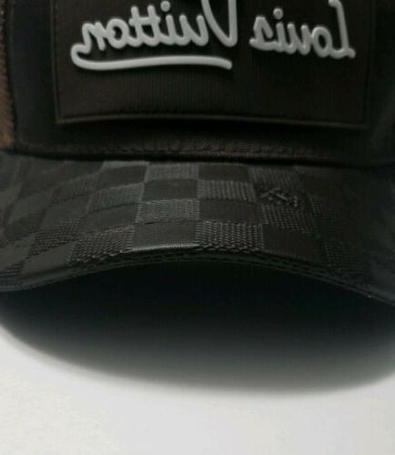 Mesh Luxury Designer Trucker Hat Curved Bill - Quality