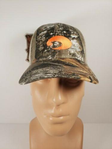 269d22d3d5 Costa Del Mar Mesh Hat with Orange Logo