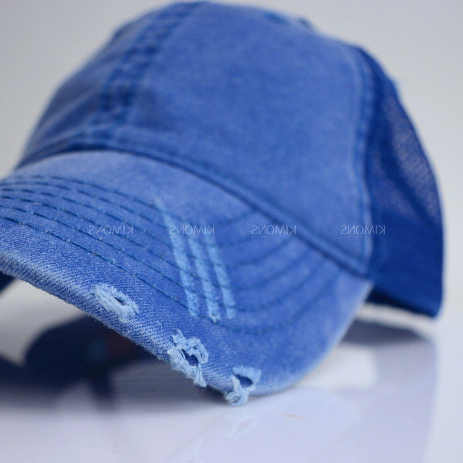 Cap Hat Cotton Washed