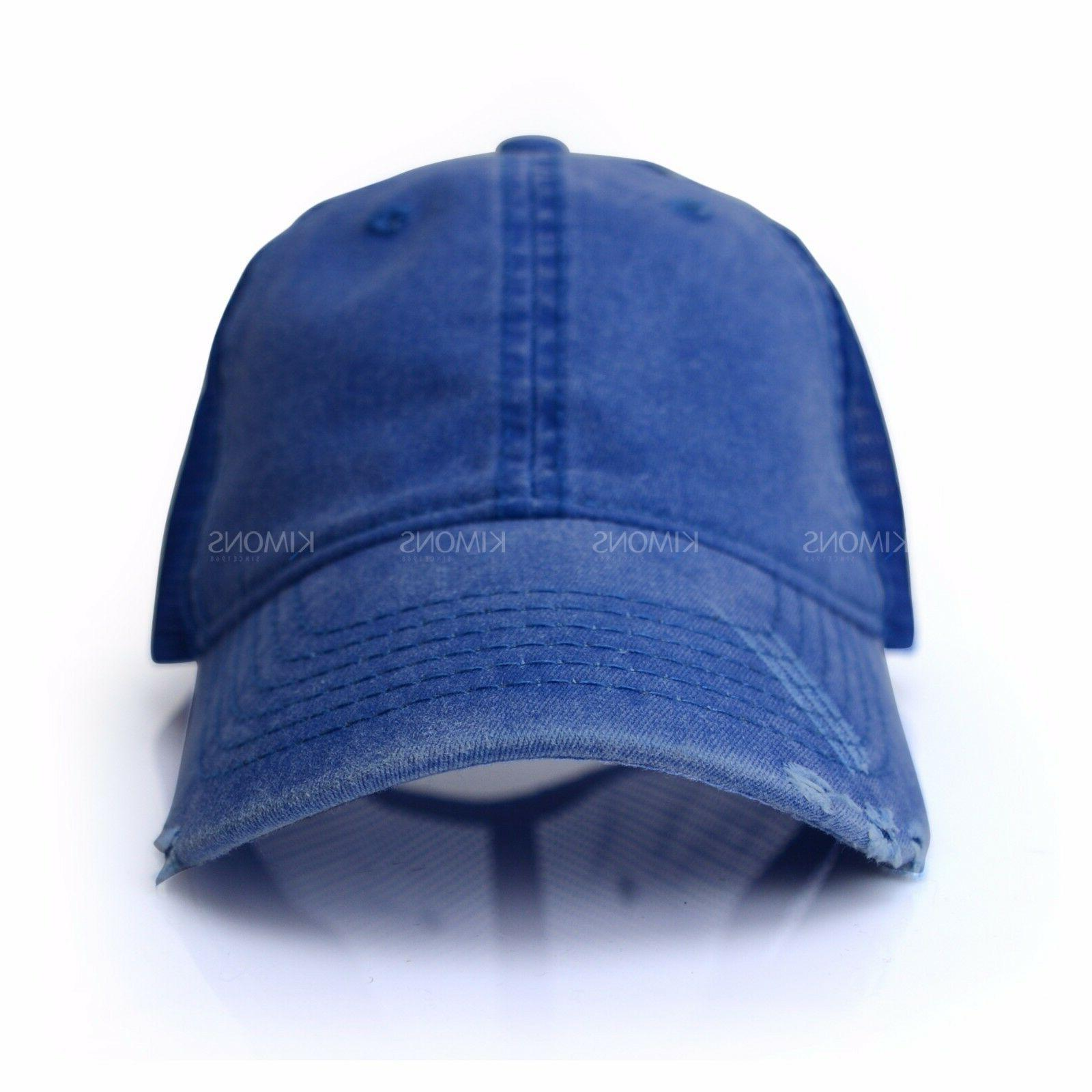Mesh Trucker Cap Hat Cotton Washed Style Baseball