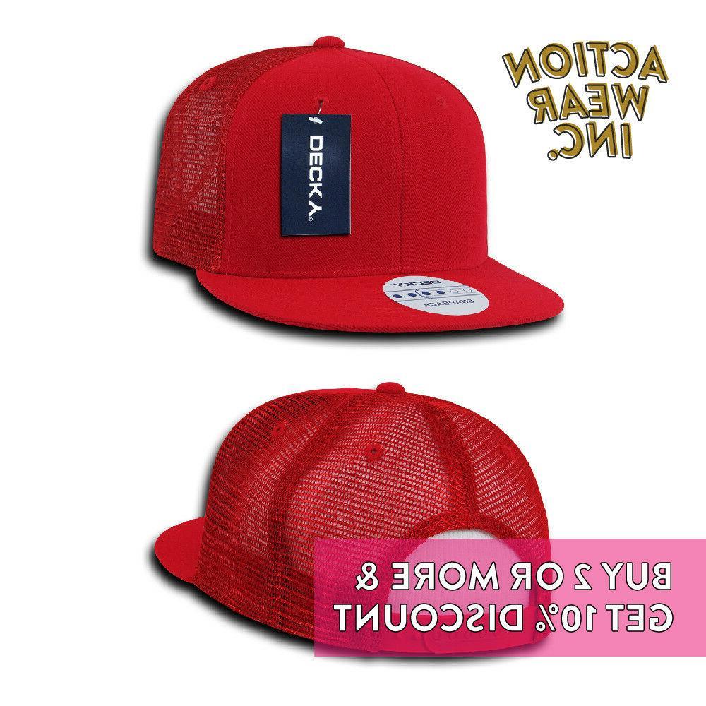 DECKY 1052 MENS FLAT HATS CASUAL MESH CAP