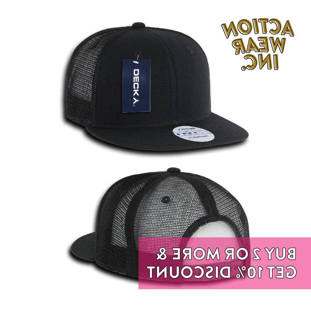 DECKY TRUCKER HATS BASEBALL CAP SNAPBACK CAPS TONE HAT