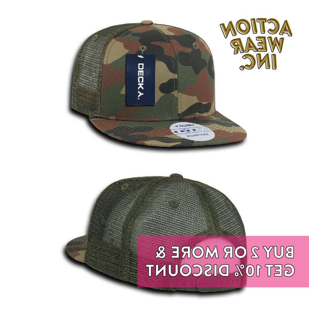 DECKY 1052 FLAT BILL CASUAL MESH CAP