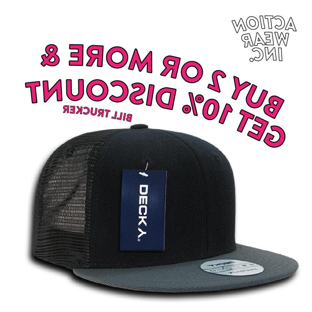 DECKY MESH TRUCKER HAT SNAPBACK BASEBALL HATS SNAPBACK CAP C