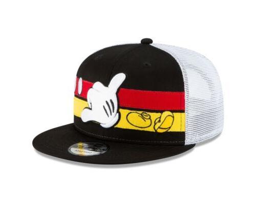Disney Mickey Stripe 9FIFTY Snapback Cap Hat