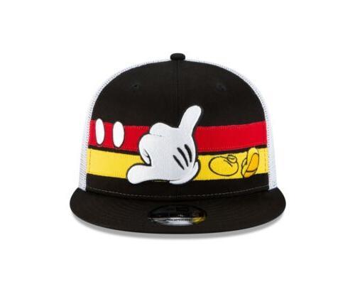 Disney Mickey Trucker Stripe 9FIFTY Snapback Cap Hat