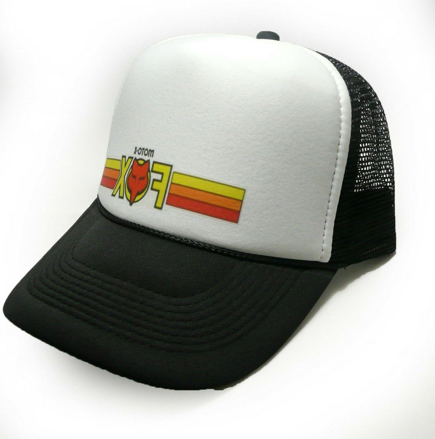 Moto-X Fox trucker Vintage Snap Cap new adjustable racing hat