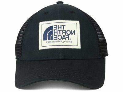The Black Meshback Trucker Style Cap