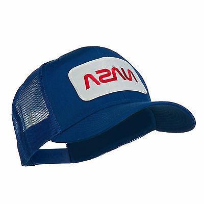 NASA Logo Patched Mesh Back Baseball Cap