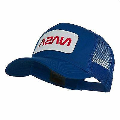 NASA Embroidered Patched Mesh Cap Trucker Hat