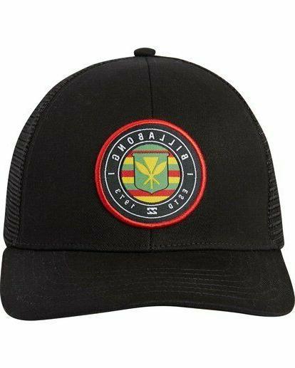 Billabong Rotor Hat Hawaii Black