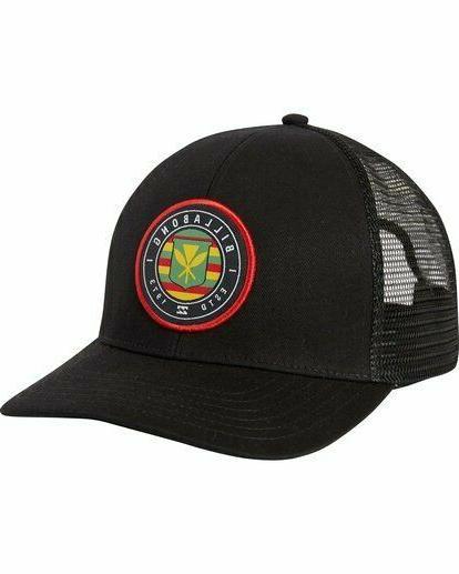 native rotor trucker hat hawaii hawaiian flag