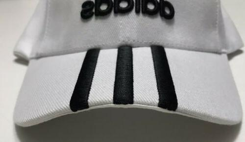 New Adidas 3 Stripes Lime Strapback Hat - Cap