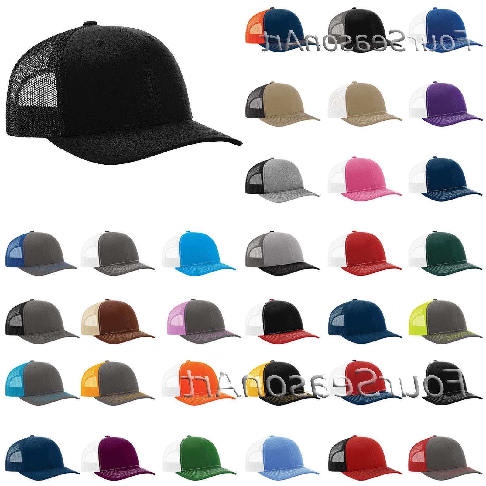 Richardson Trucker Cap Meshback Hat Cap-112