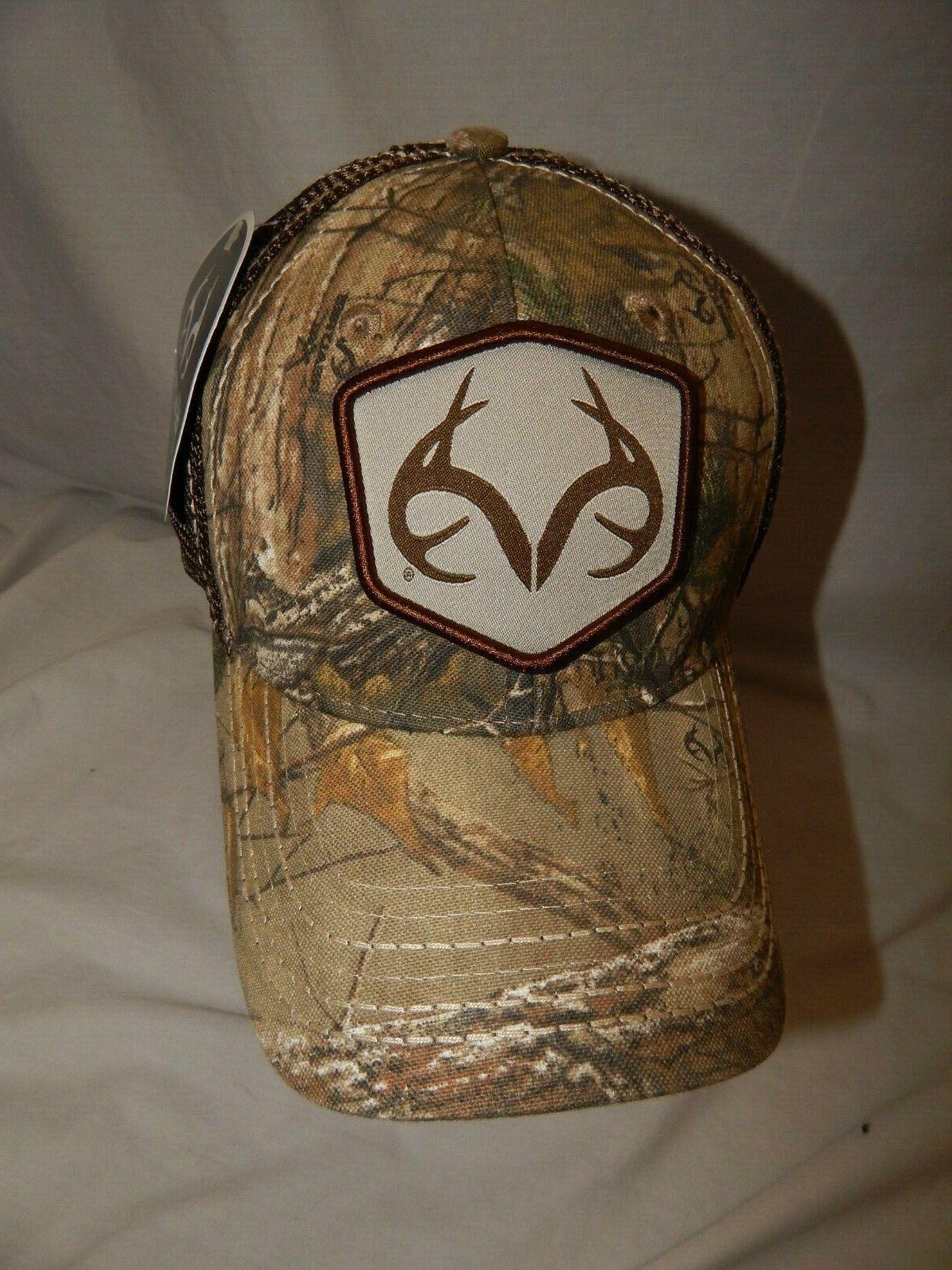 new hat slouch trucker cap camo deer