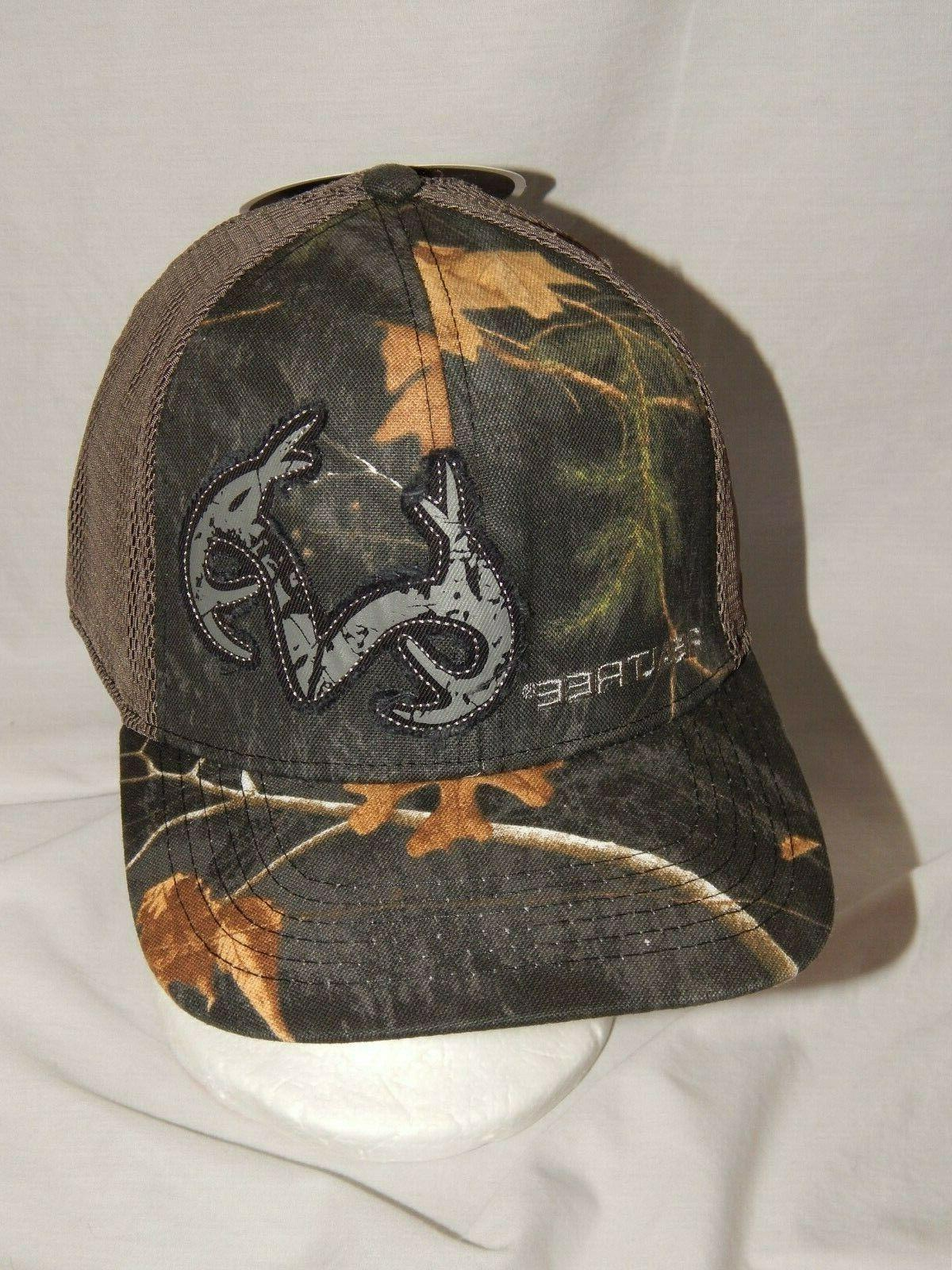 NEW Realtree Hat Trucker Cap Camouflage Stretch Fit Camo Dee