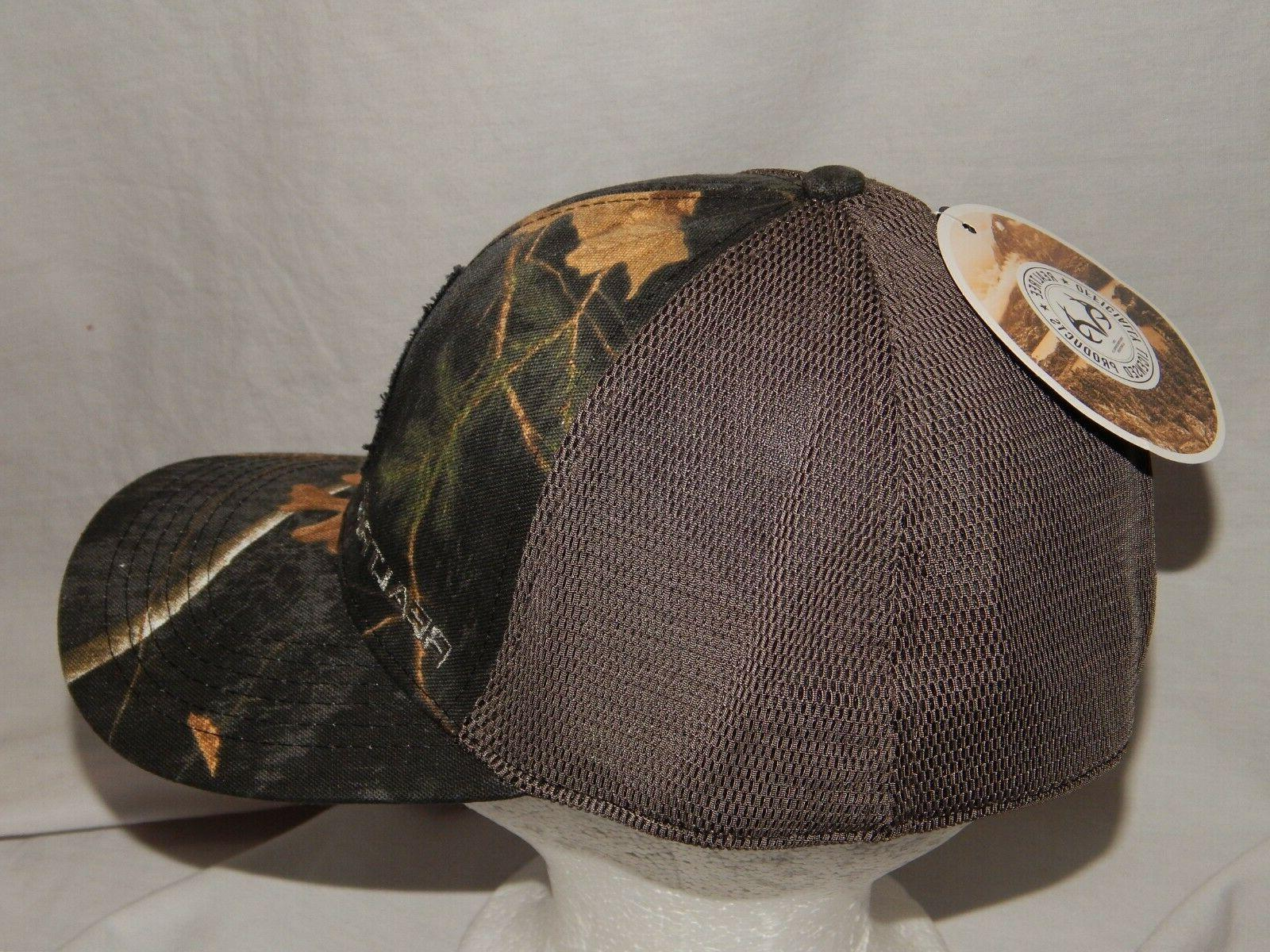 NEW Cap Camouflage Stretch Fit Camo Mens S/M L/XL