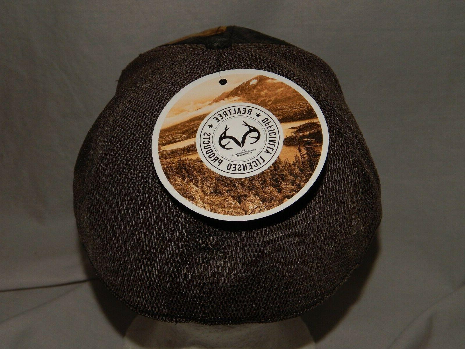 NEW Hat Cap Camouflage Fit Camo Mens Size S/M L/XL