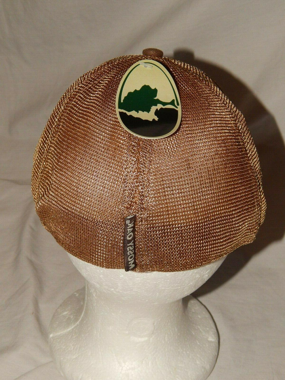 NEW Mossy Oak Trucker Cap Tree Deer Mens S/M