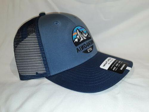 *NEW* Patagonia Fitz Roy Scope Hat OS Pigeon Blue *NWT