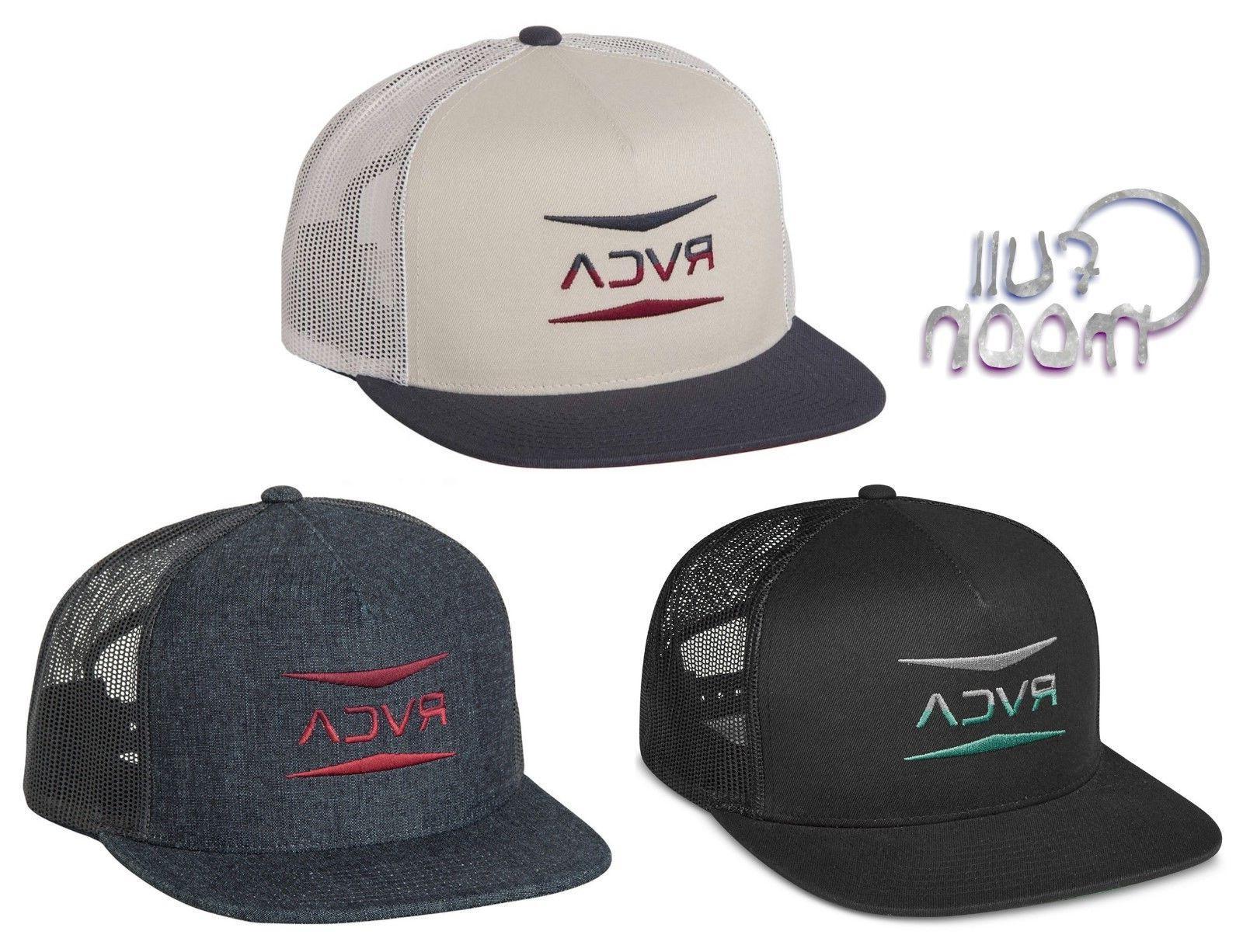 super popular d6d78 f57db New RVCA Men s Points Snapback Trucker Cap Hat