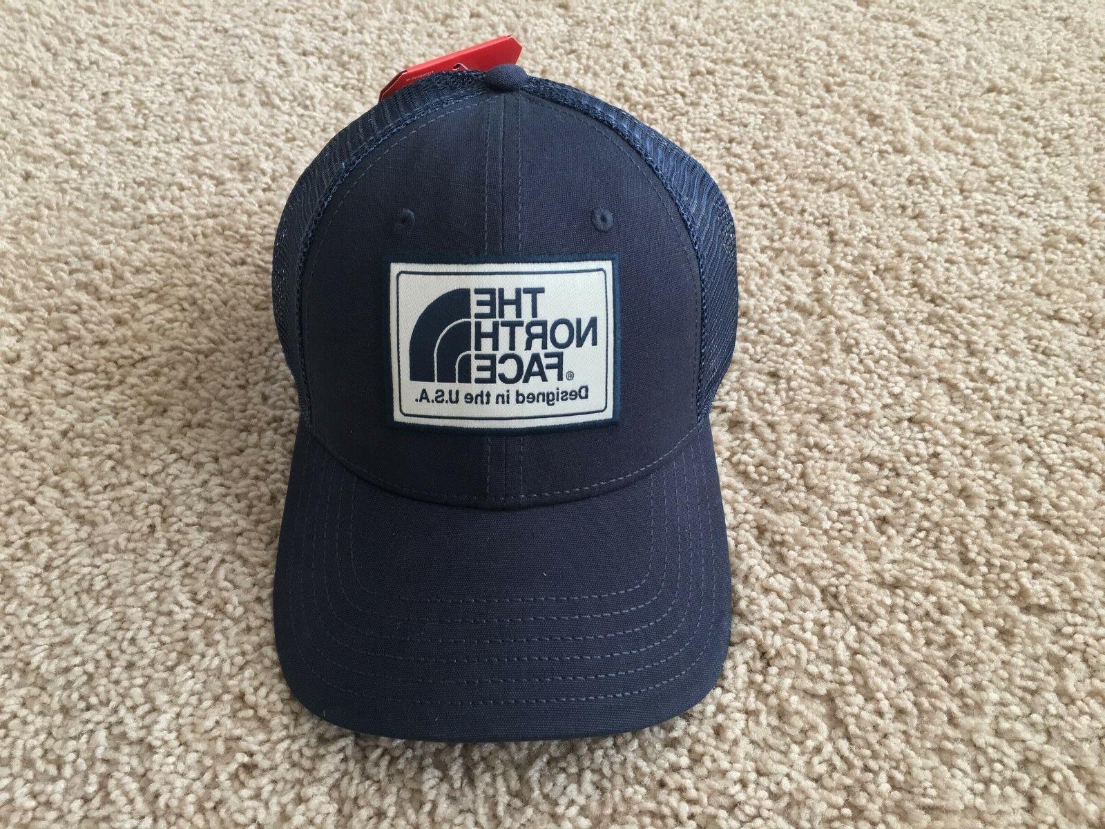 NEW NORTH Mudder Trucker Mesh Snapback Cap blue