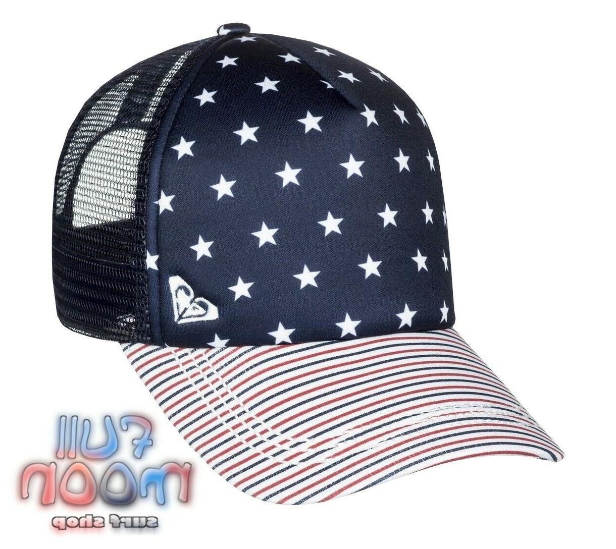 New ROXY Of July Womens Trucker Hat Cap