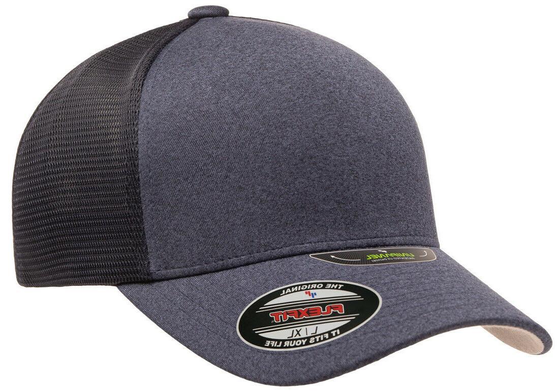 New Flexfit® Unipanel™ Mesh Curved Visor 5511UP Ballcap