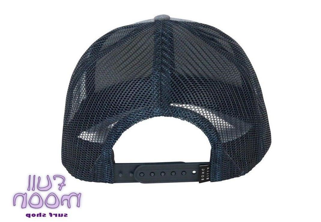 New Billabong Walled Gray Cap Hat