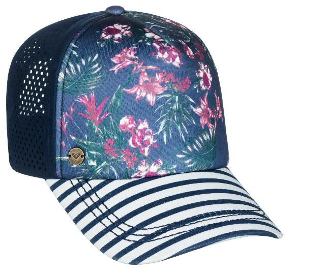 New Roxy Women's Waves Machines Trucker Hat Snapback Cap Sur