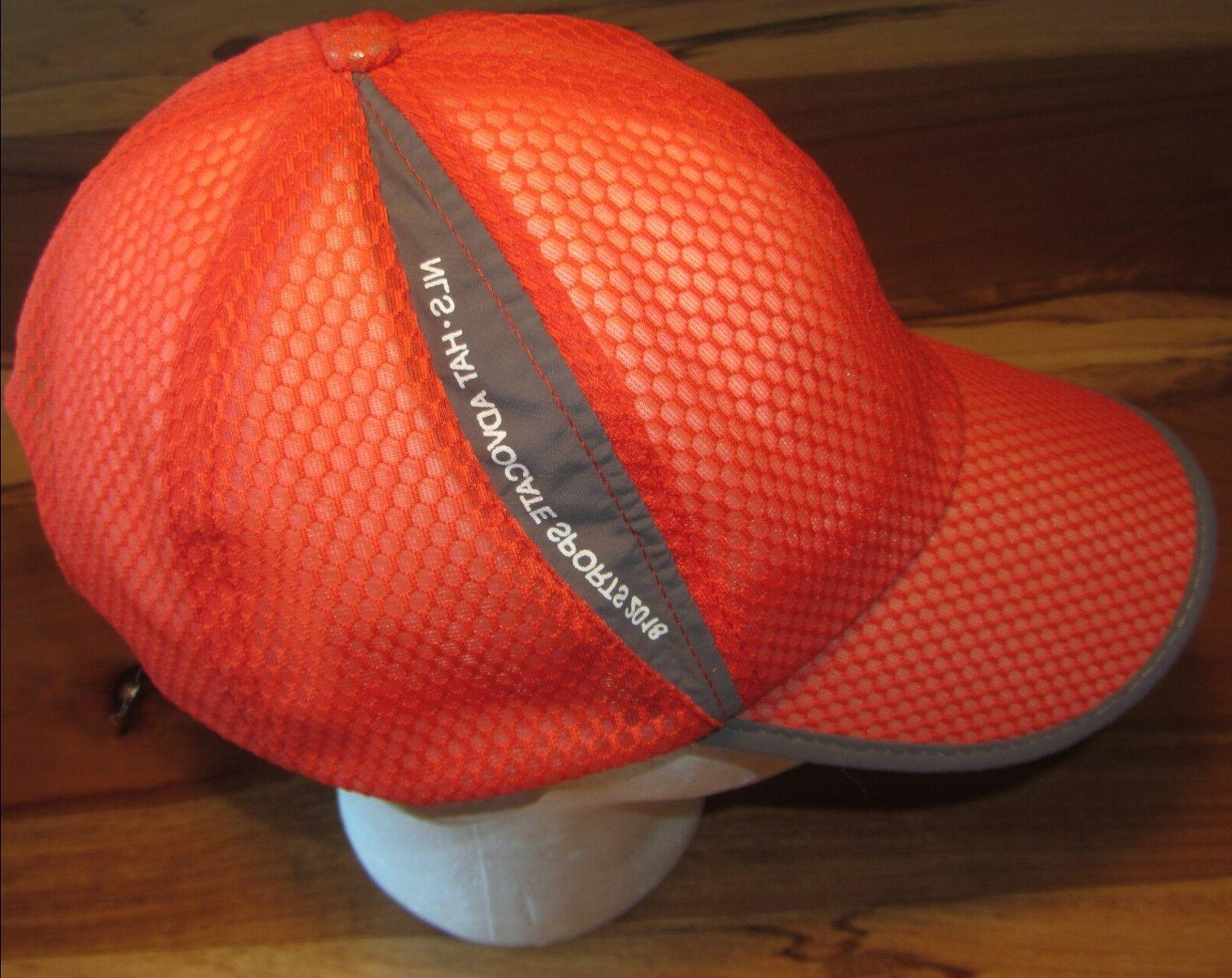 NLS Mens Cap, Hat, Orange, Strapback,