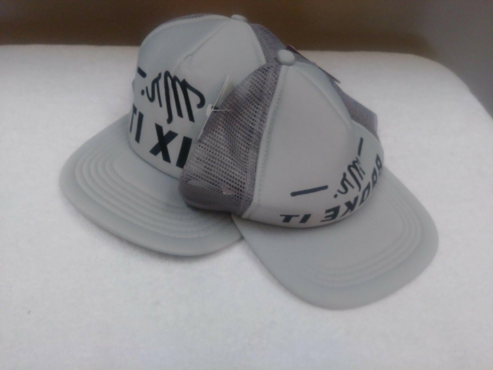 NWT Father/Son Matching MR MR FIX Trucker Hats Adult