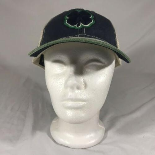 NWT Black Lucky Two Tone Vintage Green/Blue Trucker Back
