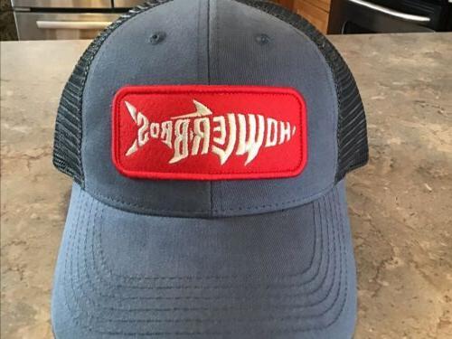 nwt silver king trucker hat cap fish