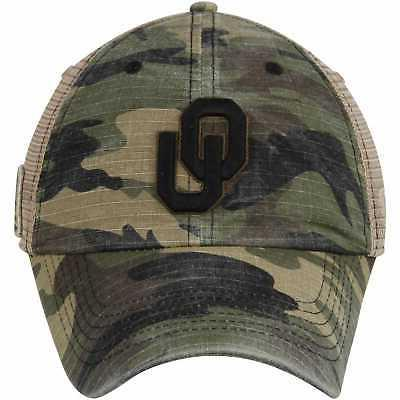 Oklahoma Sooners Top the Declare Adjustable Hat - Camo