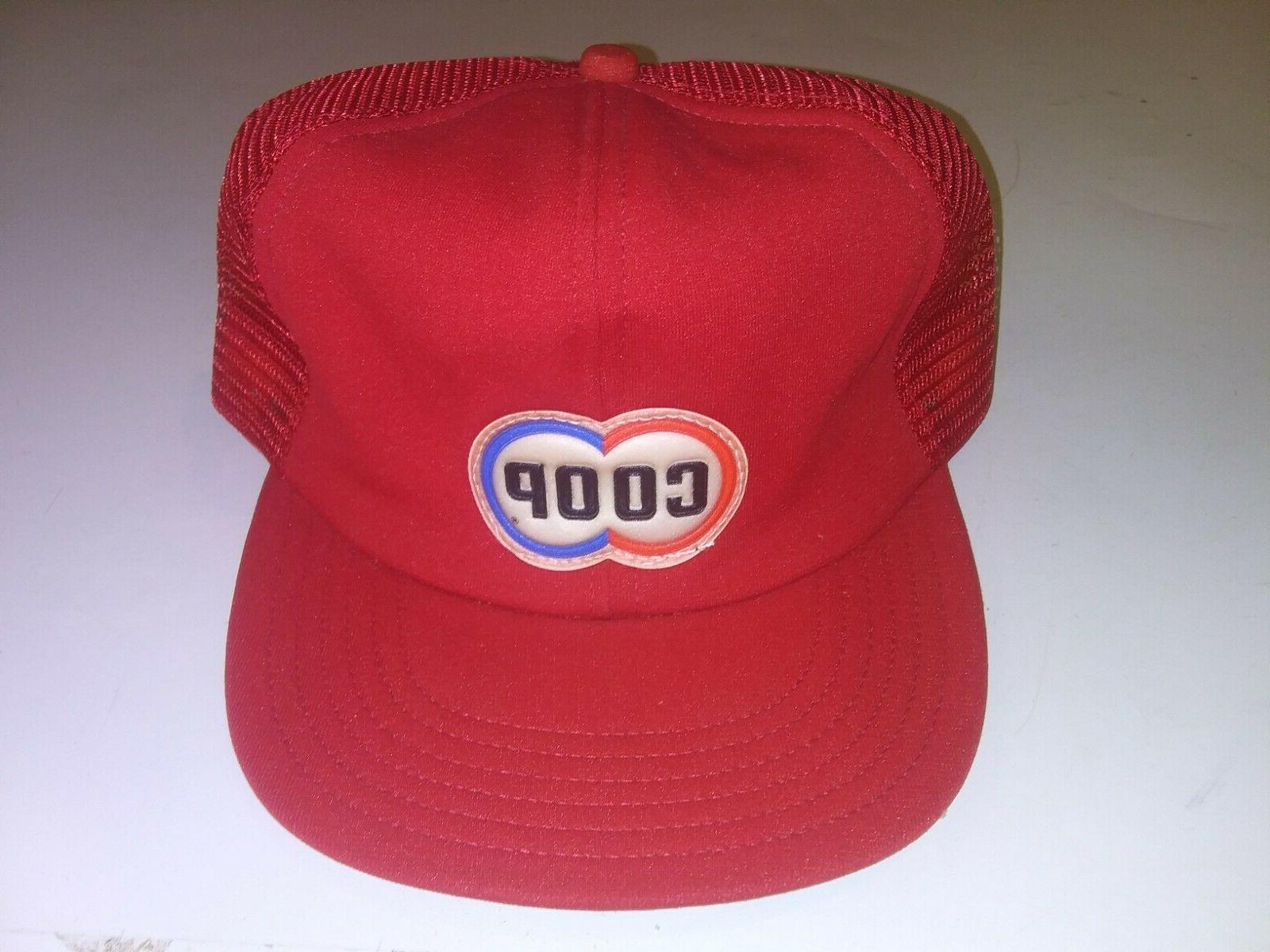 old vintage hat trucker snapback advertising farmer