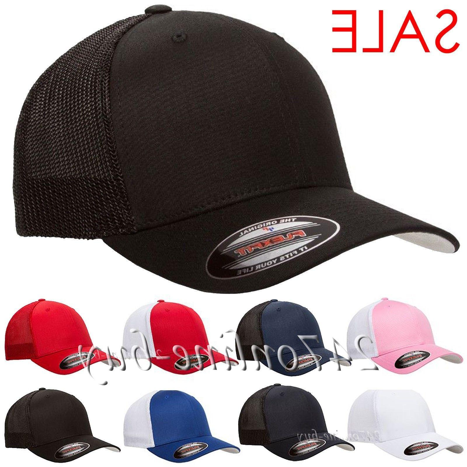 original trucker mesh cap plain blank baseball