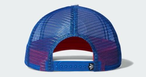 Adidas Trucker Hat 🔴⚪️🔵 💯 Authentic