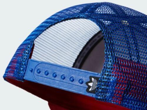 Adidas Circle Trucker Hat 🔴⚪️🔵 💯