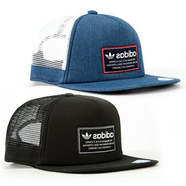originals patch trucker hat cap thrasher trefoil