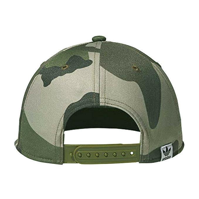 ADIDAS Trefoil Snapback hat adjustable trucker camo