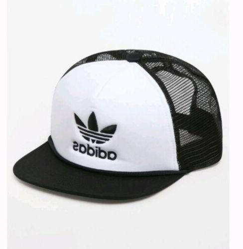 originals trefoil mesh trucker hat snapback cap