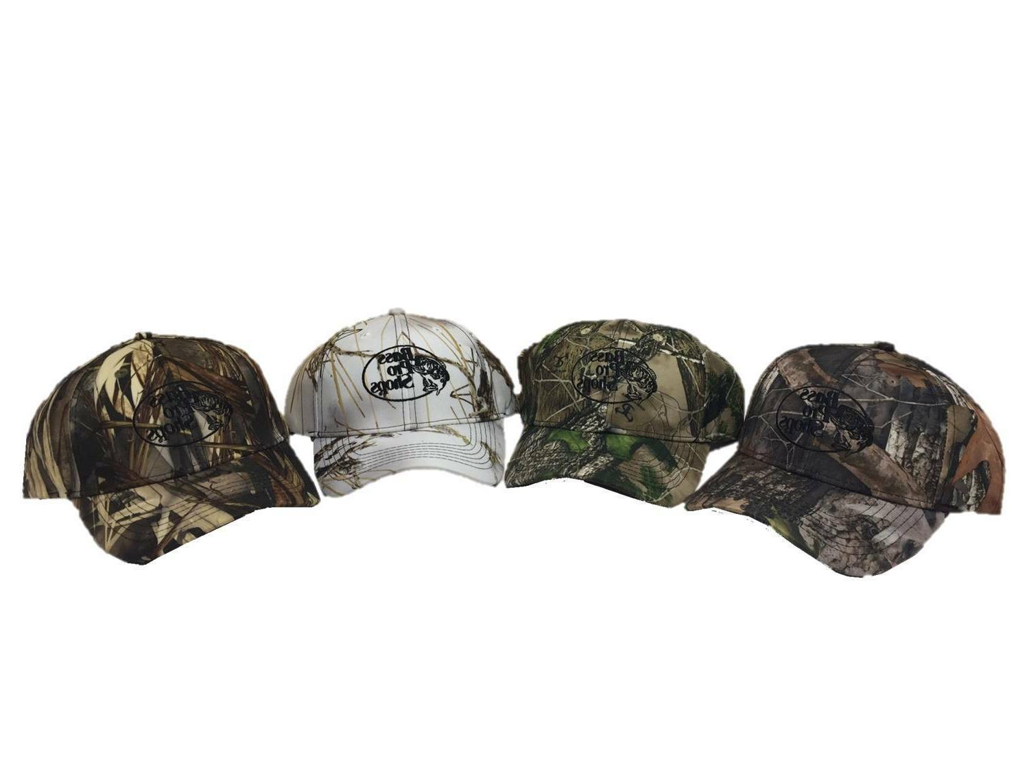 Bass Pro Shops Outdoor World Camo Tonal Embroidered Logo Hat