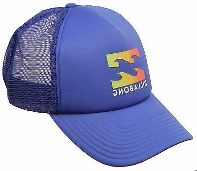 podium trucker hat blue new