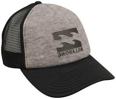 podium trucker hat grey heather new