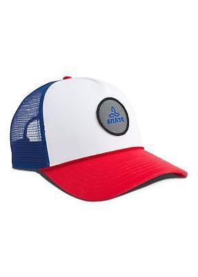 prAna Patch Trucker Hat - Red White