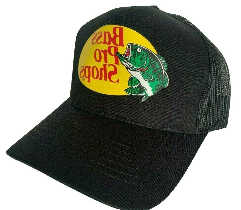 Bass Pro Shop Men's Trucker Hat Mesh Cap - One Size Fits All