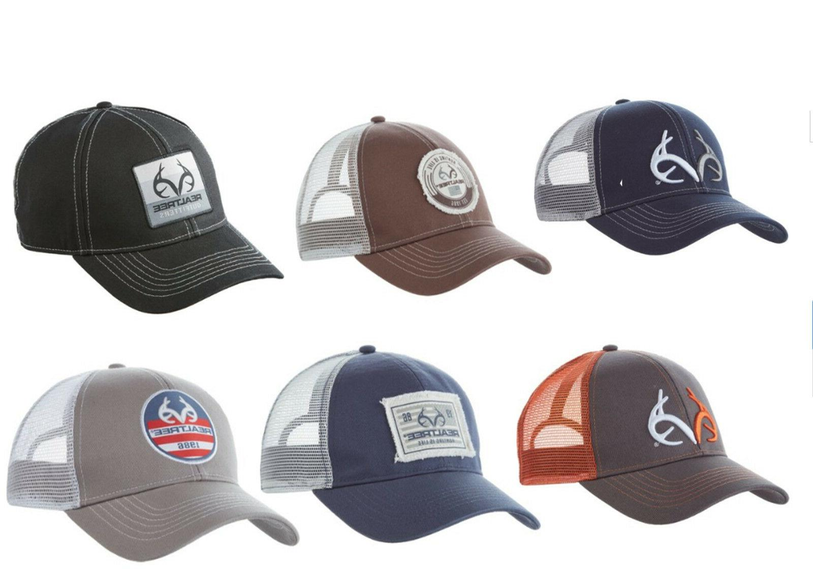 realtree outfitters trucker hat cap 6 colors