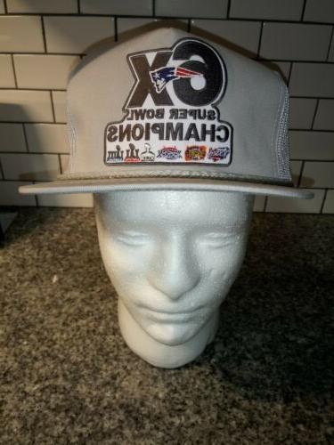 Retro 6x Super Bowl Trucker Hat Throwback Vintage Style